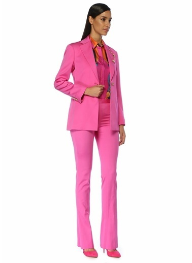 Versace Pantolon Fuşya